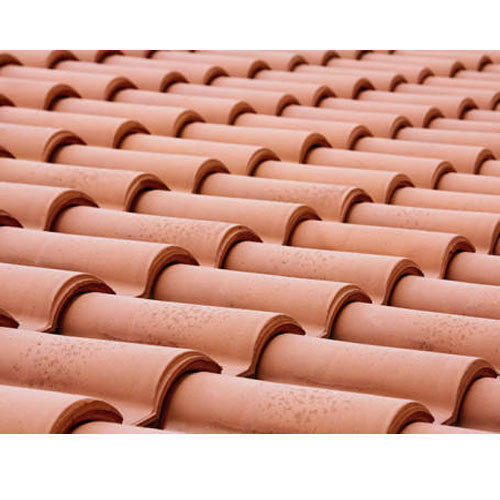 Roof Tile Khaprail Terracotta Roofing Tile क्ले रूफ