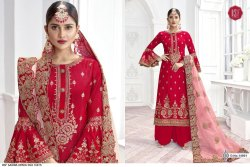 Upada Silk Embroidery Salwar Suits