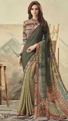 Georgette Exclusive Designer Saree