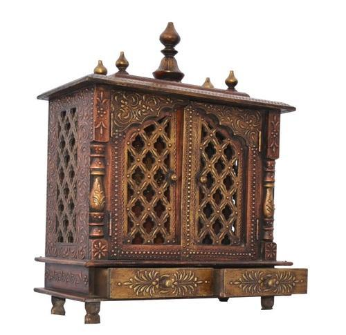 Wooden Temple For Home/ Pooja Mandir For Home