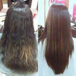 Hair Rebonding, Hair Straightening Services in India