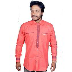 Cotton Mens Fashionable Full Sleeve Shirt