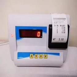 Weighing Scale Indicator With Printer