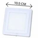 White Plus 3W Side Blue Square Surface Panel Light