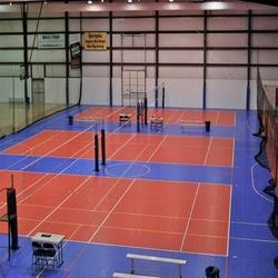Volleyball Court Flooring Service