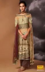 MBGN8412- Tussar Silk Suit Set with Sequin Handwork