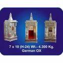 7x10x24 Inch German Oxidized Temple