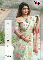 Tijori Silk Vol 1 Viscose Silk Saree by Yadu Nandan Fashion