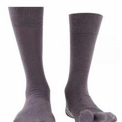 Pedder Johnson Gents Split Toe Dark Gray  Anti-Slip Socks