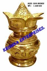 Brass Riddhi Siddhi Kalash
