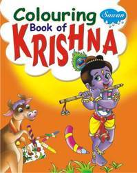 Coloring Book of Krishna