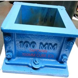 Cast Iron 100mm Cube Mould