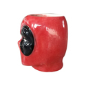 Ceramic Deadpool Head 3D Mug