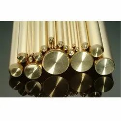 Steel Mart Brass Round Bar, For industrial, Size: 2mm Dia To 1000mm