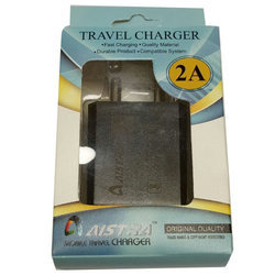 Black 2 amp Mobile Charger Adapter