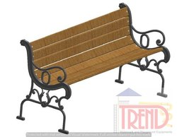 Regular Garden Bench