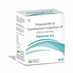 Pipratop 4.5 Inj - Piperacillin 4000mg Tazobactum 500mg