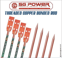 SG214 RCB Threaded Copper Bonded Rod