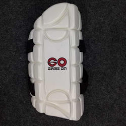 Gameon White and Black White Cricket Arm Guard