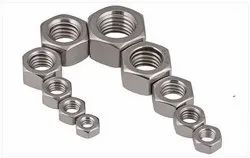 RS Mild Steel Nut, Size: 5mm To 12mm