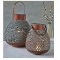 Aged Copper Lantern