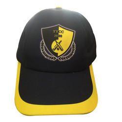 c9dc061864dcf IK International Black and Yellow Promotional Cricket Cap