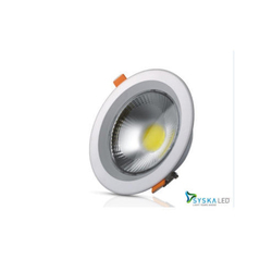 Syska Ceramic LED COB Downlight, IP Rating: IP20