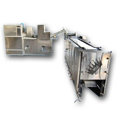 Stainless Steel L Shape Chapati Making Machine