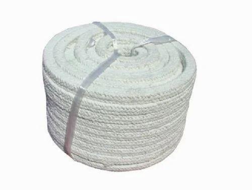 White Dry Asbestos Rope