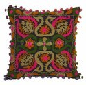 Indian Embroidered Pillow Cover