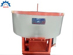 Concrete Pan Mixer Machine With Roller Type
