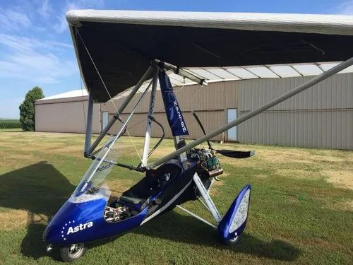 Powered Hang Glider With Rotax 912