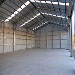 Steel Fabricated Shed