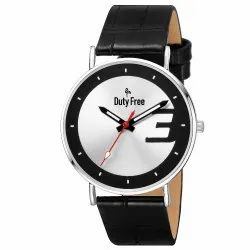 Duty Free Gents Leather Watch
