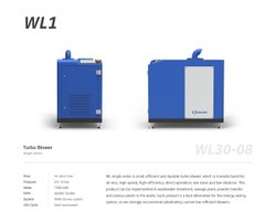 TURBOWIN-High Efficiency,Oil Free,High Speed,Turbo Blowers WLi-Series