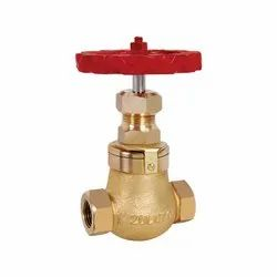 IBR Bronze Steam Stop Valve