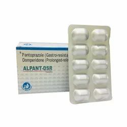 Pantroprazole Gastro Resistant Domperidone Prolonged Release for Hospital/Clinic, Packaging Type: Paper Box