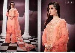 Georgette Mirror Work Suits