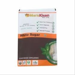Mera Kisan Plastic Bag Organic White Sugar, Packaging Size: 500 Gm, 1 Kg