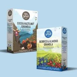 Cereal Box Style Packaging Boxes