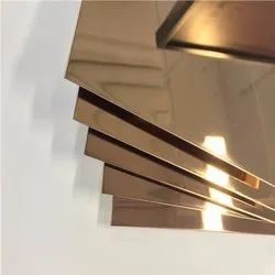 Rose Gold Mirror Finish Stainless Steel Sheets