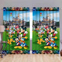 Mickey Printed Digital Curtain
