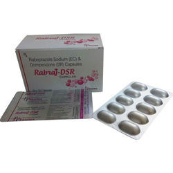 Rabeprazole Sodium And Domperidone Capsules, For Commerical, Packaging Size: 1x10