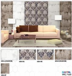 6004 (L, HA, HB, D, DF) Hexa Ceramic Digital Wall Tiles