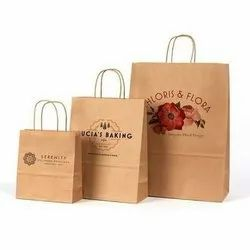 Handmade Brown Paper Bags, Features: Eco Friendly