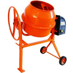 Tilting Drum Mixer Stainless Steel Cement Mixers, For Industrial, Automation Grade: Manual