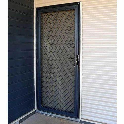 Aluminium Door Aluminium Grill Door Manufacturer From