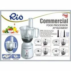 Slicing White Commercial Food Processor, 1200 Watts