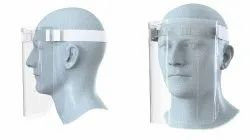 Corona Safety Face Shield 400 Micron Polyester Film / Pet / Polycarbonate - A4 Size