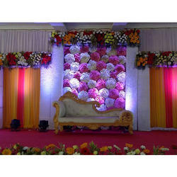 Decorative Flower Fiber Backdrops